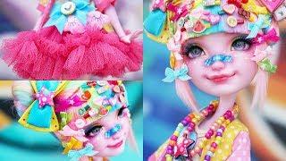 Decora Kei Girl 🌈 Special Collab w/ Babi Time | Custom EAH Doll Repaint | Mozekyto 8