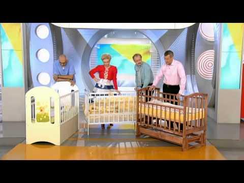 Видео как выбрать детскую кроватку