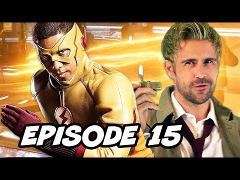 Legends of Tomorrow 3x15 - The Flash Constantine Episode Easter Eggs thumbnail