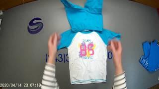 Ст 180. Уп № 5 (2020). Купальники детские (сток). Европа. С/ст 92 рубля за единицу.