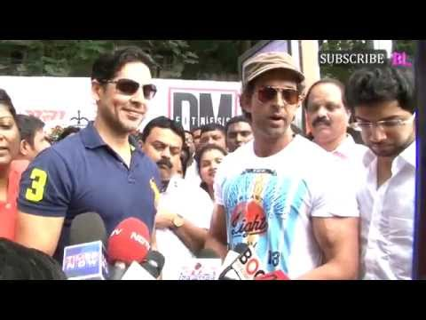 Hrithik Roshan inaugurates Dino Morea's Fitness Station