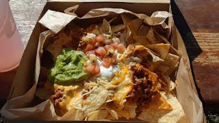 Taco Bell's $5 Grande Nacho Box Food Review