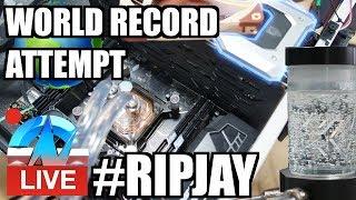 Live: #RIPJAY OC World Record Attempt #RIPPAUL