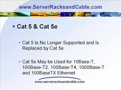 What is this Cat5e Cat6 (Category 5e Category 6) Cable Stuff About?