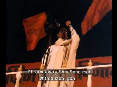 Bala Saheb Thakrey Rare Vintage Fearless Speeches By rohan Surve.flv video