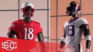 2018 Week 8 of college football uniforms: Oregon State, Utah, LSU, UConn Gear Up | SportsCenter