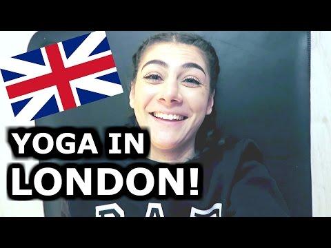 YOGA IN LONDON! - TRAVEL VLOG 304 LONDON | ENTERPRISEME TV