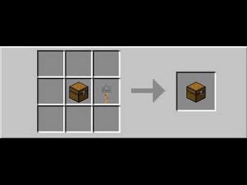 Как создать сундук ловушку в minecraft