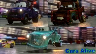 Cars 2: The video Game - 3 Maters Race on Ginza Sprint