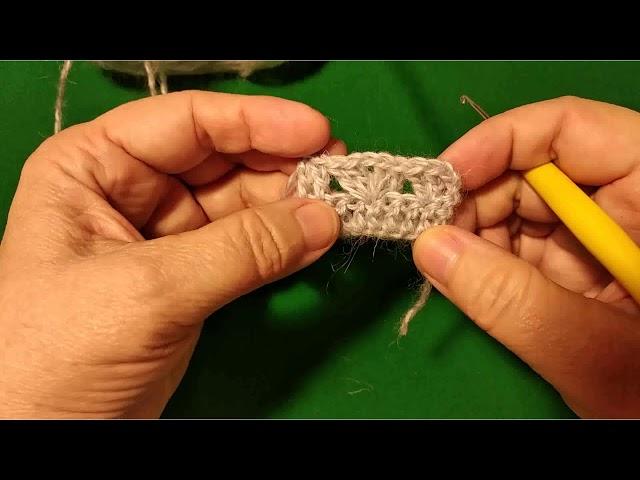 Уроки вязания крючком: как вязать группы столбиков