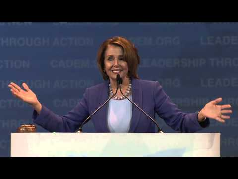 Nancy Pelosi at CA DEM 2015