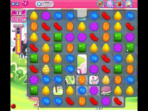 Candy Crush Saga Level 461 No Booster - See Tips!