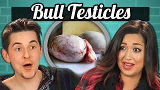 ADULTS vs. FOOD #1 - BULL TESTICLES