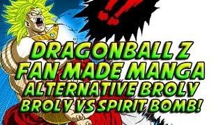 Dragon Ball Z: Legendary Super Saiyan Broly Vs The Spirit Bomb (Fan Manga Review)