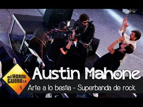 Austin Mahone en El Hormiguero 3.0 - Superbanda de rock