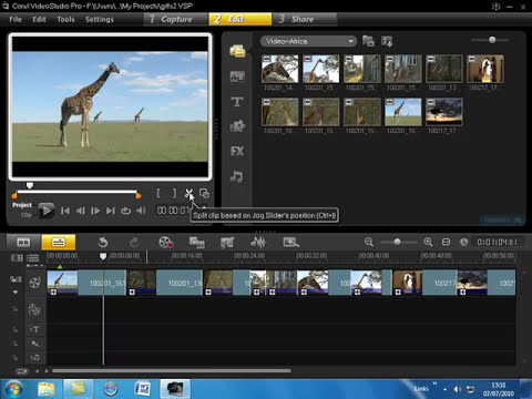 Corel VideoStudio Pro X3 part 1