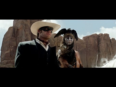 The Lone Ranger (Disney Movie Trailer 2013)