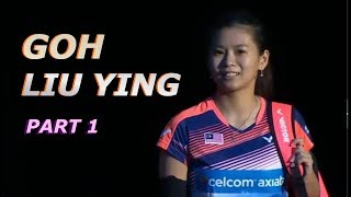 GOH LIU YING ⧫ Front Court Play. Part 1