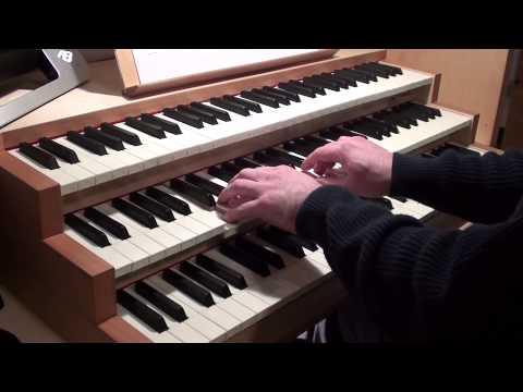 William Byrd - Pavane (The Earl of Salisbury, organ)