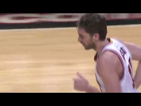 Pau Gasol Dominates Nuggets with Career-High 9 Blocks
