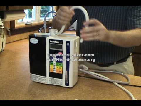 Enagic SD501 Kangen Water Ionizer Installation   SD501 Kangen Water Demo