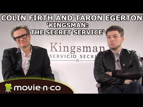 'Kingsman: The Secret Service': Interview with Colin Firth and Taron Egerton