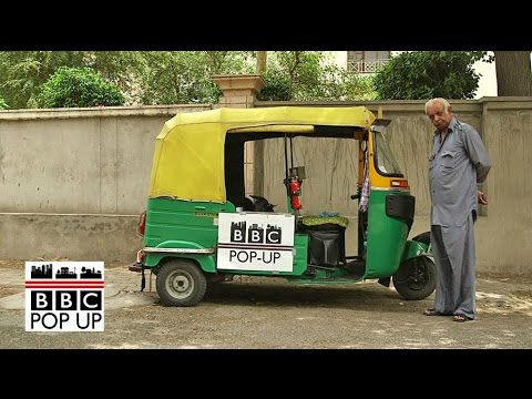 Uber vs Indian rickshaw across Delhi - BBC News
