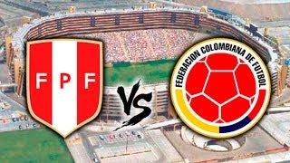 PERU  1- 1 COLOMBIA  (SEGUNDO TIEMPO )