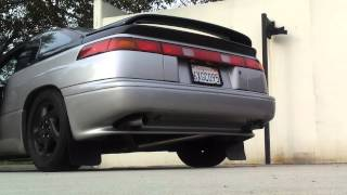 Subaru svx straight pipe exhaust