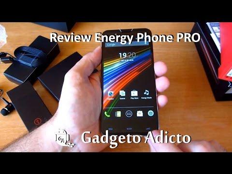 Review y puesta en marcha Smartphone Energy phone PRO (en Español)