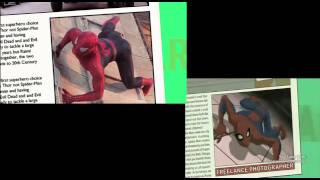 Spectacular Spider-Man Live Action Comparison