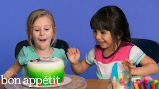 Skyla and Alyssa Imagine Their Dream Cake | Most Amazingest Cakes