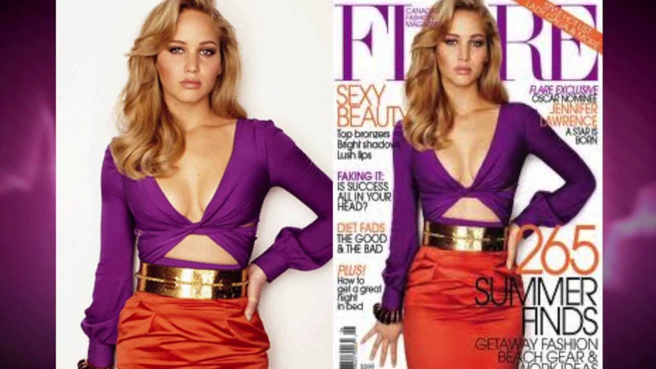 Jennifer lawrence before and after photoshop