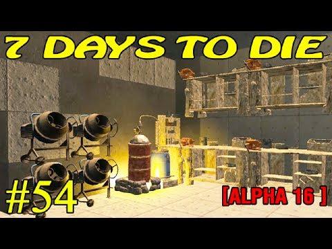 7 Days to Die Alpha 16 ► Стройка ► №54 (16+)