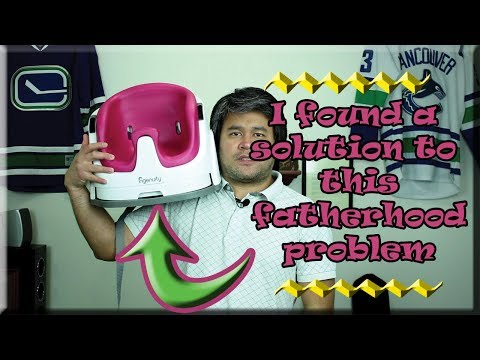 Vlog: I Found A Solution To A Fatherhood Problem|Ingenuity Baby Base 2-In-1 Seat