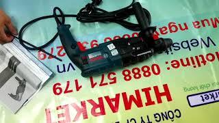 Hướng dẫn sử dụng máy khoan búa Bosch GBH 2-24 DRE giá rẻ. Nơi bán máy khoan từ chính hãng