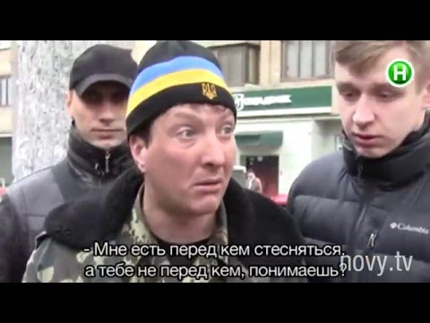 Ветераны АТО отлавливают на улице «липовых» бойцов! - Абзац! - 25.02.2016