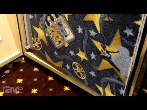 CEDIA 2013: Joy Carpets & Company Shows rAVe their Masive Carpet Samples for Home Theaters