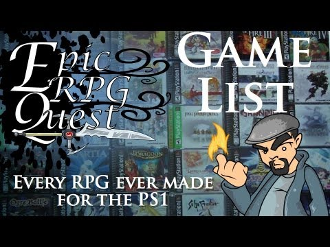 Epic RPG Quest - List of every RPG for the PS1