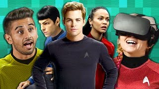 REACTORS FLY A SPACESHIP TOGETHER?! | Star Trek Bridge Crew (React: Co-Op Gaming)