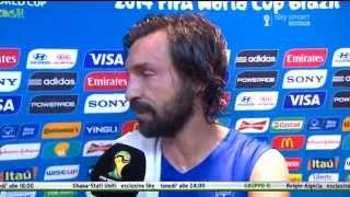 Intervista a PIRLO ITALIA 2-1 Inghilterra All Goals & Highlights Brazil World Cup 2014 HD HD
