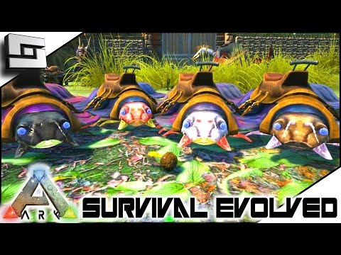 ARK: Survival Evolved - BROTH OF ENLIGHTENMENT! S4E38 ( The Center Map Gameplay )