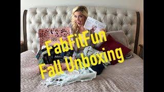 FABFITFUN FALL BOX UNBOXING