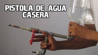 Como Hacer Una Pistola de Agua Casera Fácil