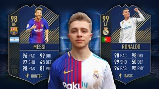 MESSI VS RONALDO | Fifa 18 TOTY Edition