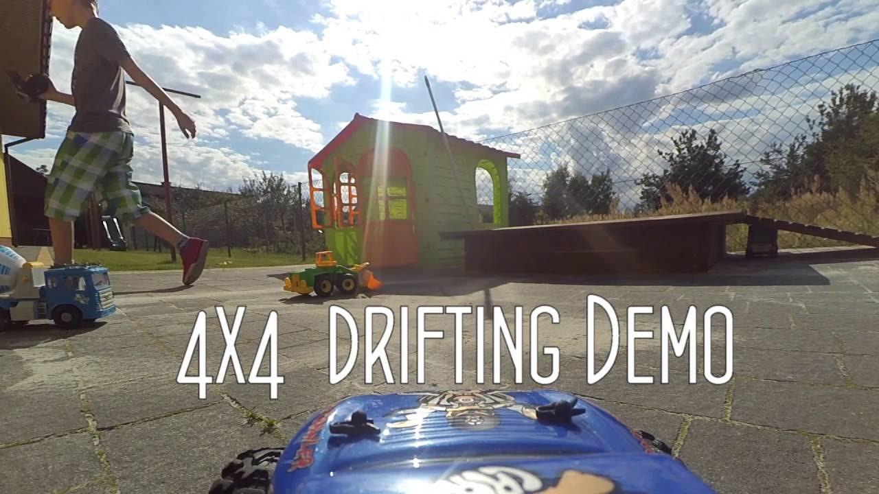 Extreme  4x4  RC drifting