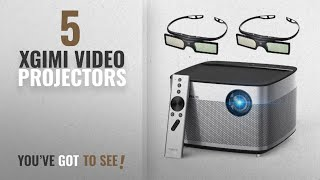 """Top 10 Xgimi Video Projectors [2018]: XGIMI H1 DLP Projector 300"""" Display Home Theater Native HD"""