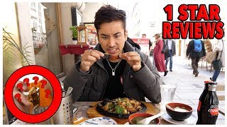 Eating At The WORST Reviewed Restaurant In Austria (1 STAR)