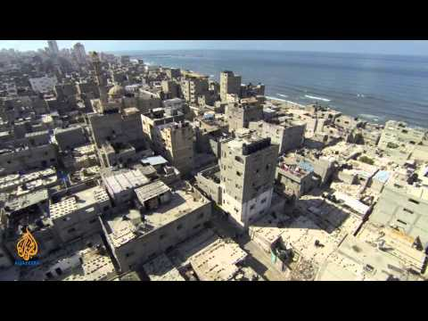 Palestine Remix - Drone Footage: Al Shati Refugee Camp