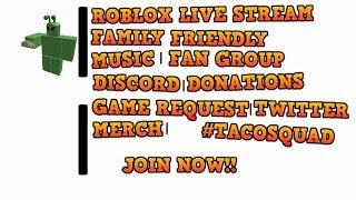 ROBLOX | #22 | LIVE STREAM | FAMILY FRIENDLY | Tanius |